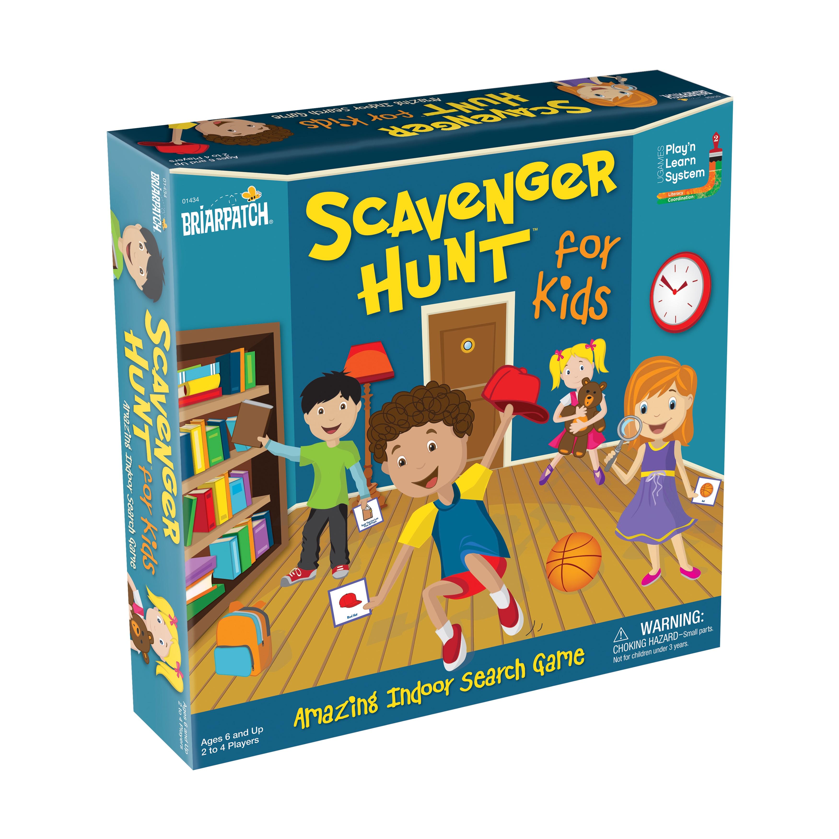 Briarpatch Scavenger Hunt for Kids Board Game, Multi