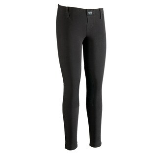 Devon-Aire Hipster Black Equestrian Riding Tights
