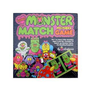 Monster Match Memory Game