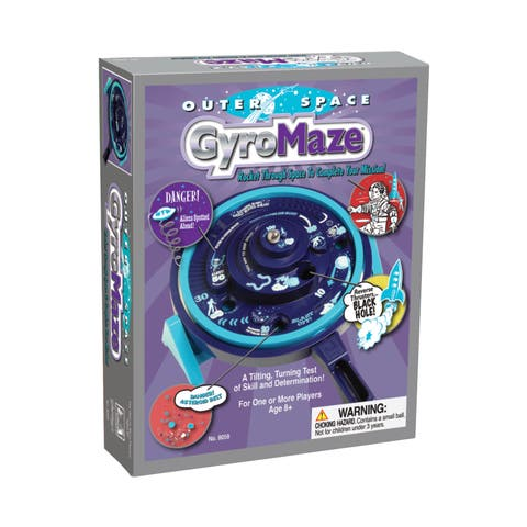 Outer Space GyroMaze - Purple