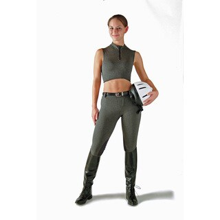 Devon-Aire Hipster Charcoal Riding Tights
