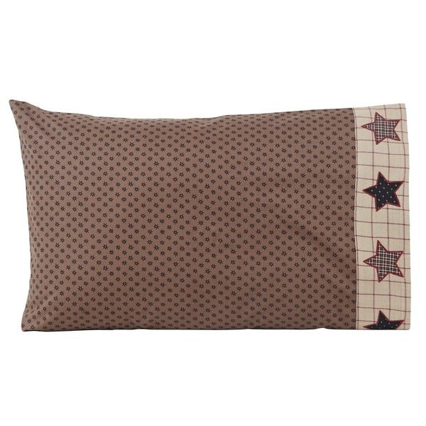 Bingham Star Cotton Pillow Case Set