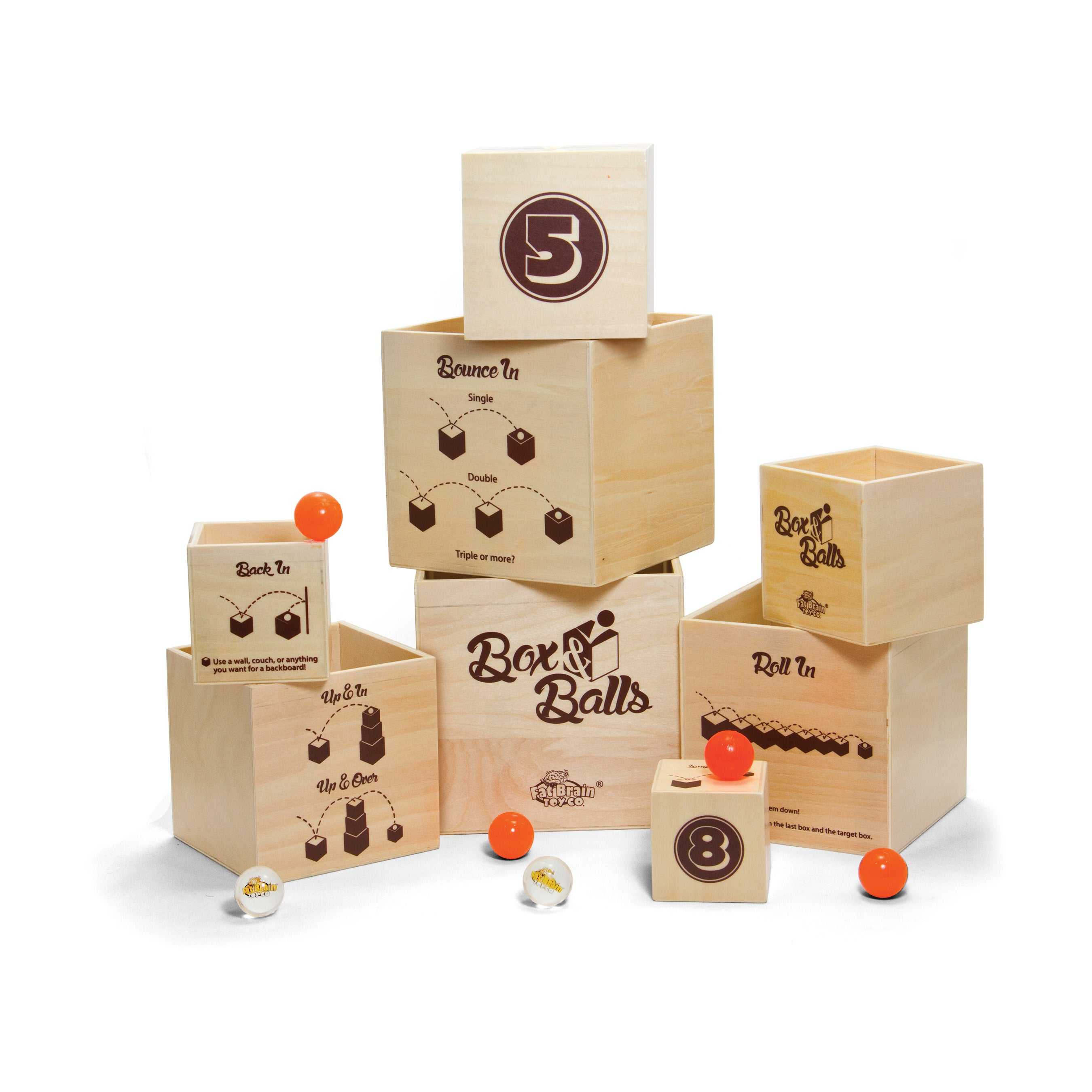 Toy Box & Balls, Multi