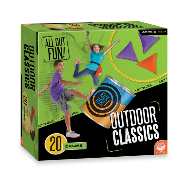 All Out Fun! Outdoor Classics - 20 Games