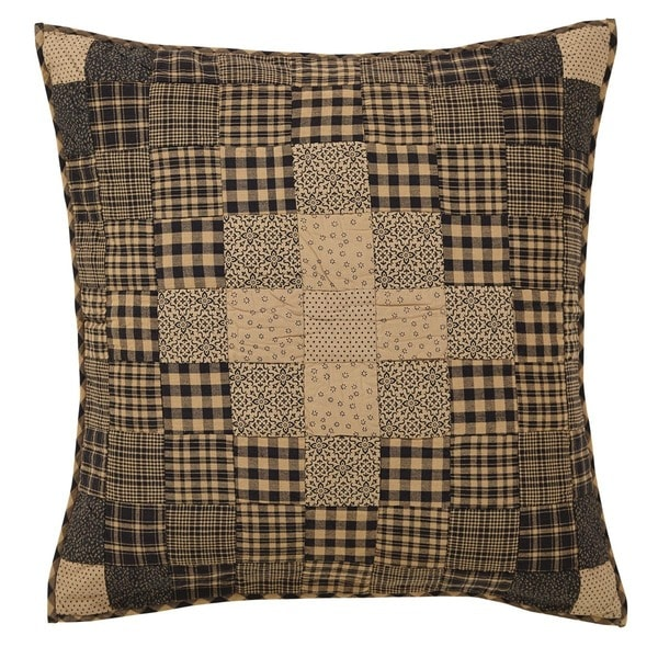 Coal Creek Cotton Quilted Euro Sham
