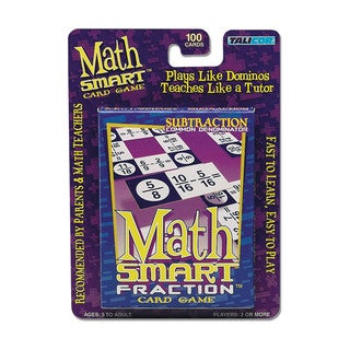 Math Smart Card Game: Subtraction
