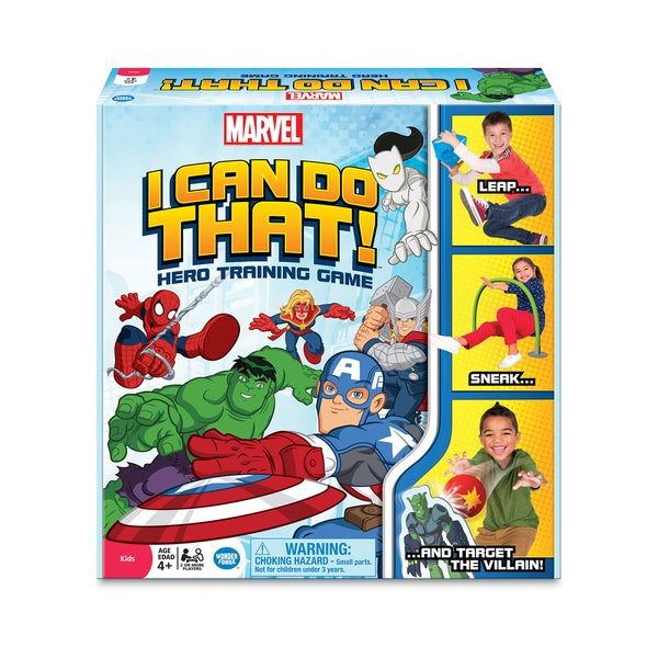 Marvel I Can Do That! Hero Training Game