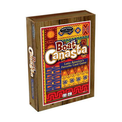 Boat Canasta - Brown