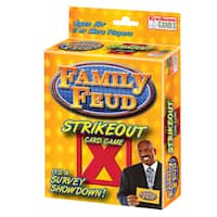 Family Feud Strike Out Card Game