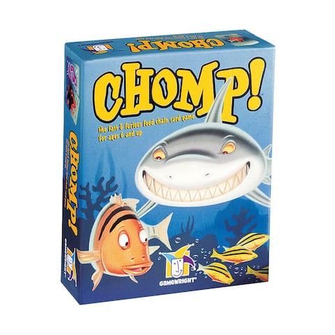 Chomp! Card Game - Blue