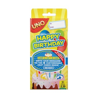 UNO Happy Birthday - Yellow