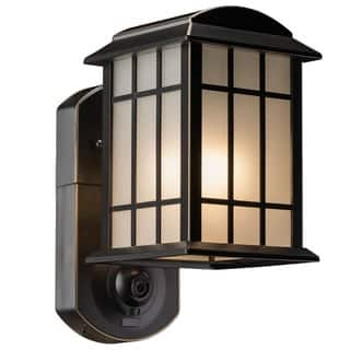 Maximus Craftsman Smart Security Light  Oil Rubbed Bronze Finish|https://ak1.ostkcdn.com/images/products/15614622/P22048185.jpg?impolicy=medium