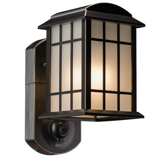 Maximus Craftsman Smart Security Light  Oil Rubbed Bronze Finish