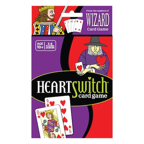 HeartSwitch Card Game - Red/Purple