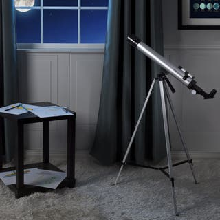 Telescope for Kids by Hey! Play! - Silver/Black