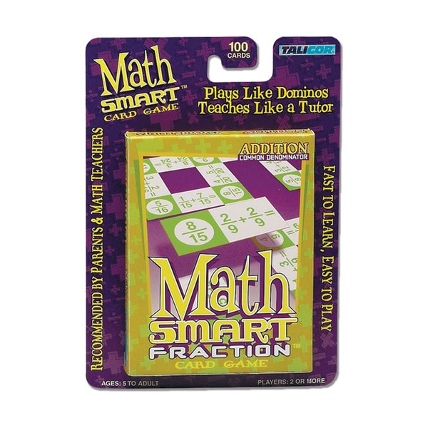 Math Smart Card Game: Addition
