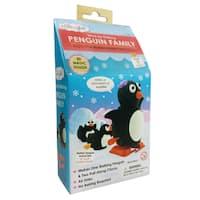 Wind-Up Walking Penguin Family