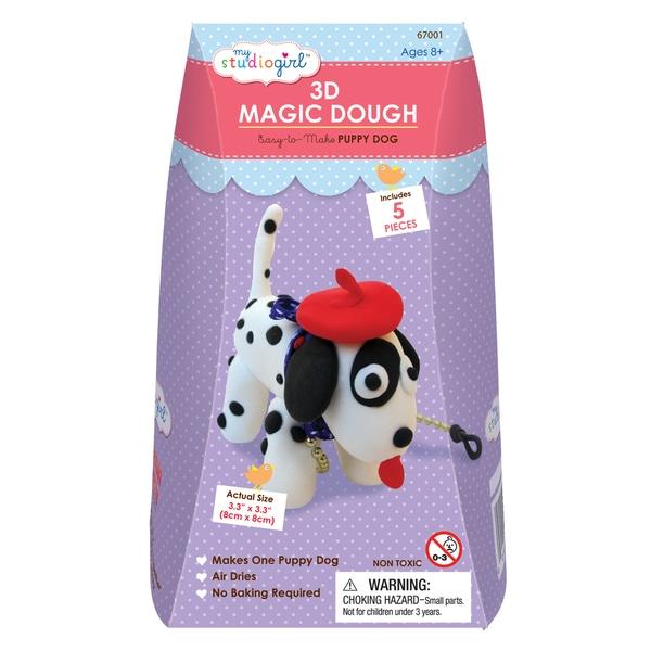 3D Magic Dough - Puppy Dog