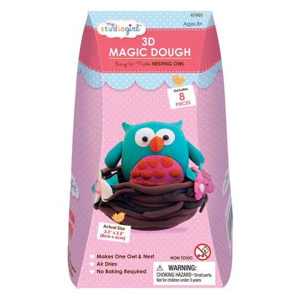 3D Magic Dough - Nesting Owl