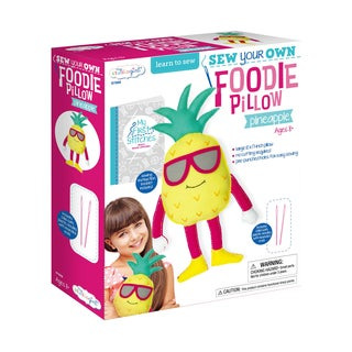 Sew Your Own Foodie Pillow - Pineapple