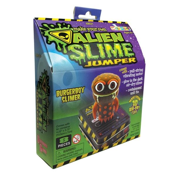 Make Your Own Alien Slime Jumper - BurgerBoy Slimer