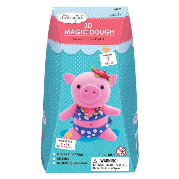 3D Magic Dough - Piggy