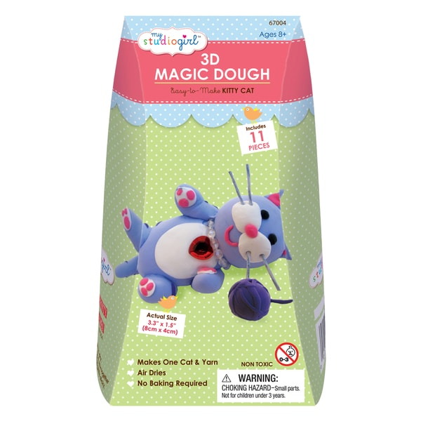 3D Magic Dough - Kitty Cat