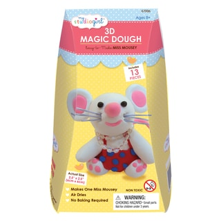 3D Magic Dough - Miss Mousey