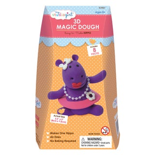 3D Magic Dough - Hippo