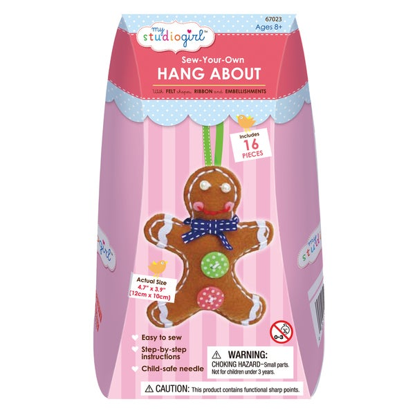 Sew-Your-Own Hang About - Gingerbread Man