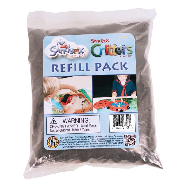 Sandbox Sand Refill Pack - 1.5 lb Black