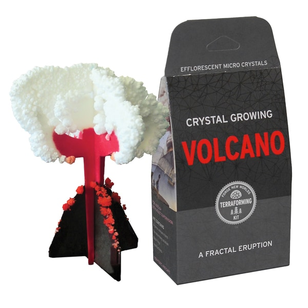 Crystal Growing: Volcano