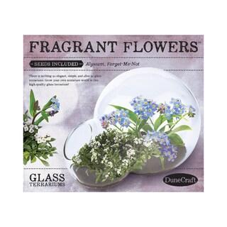 Double Bubble Glass Terrarium - Fragrant Flowers