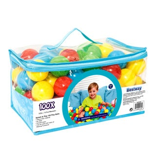 Bestway Up In and Over Splash and Play 100 Play Balls