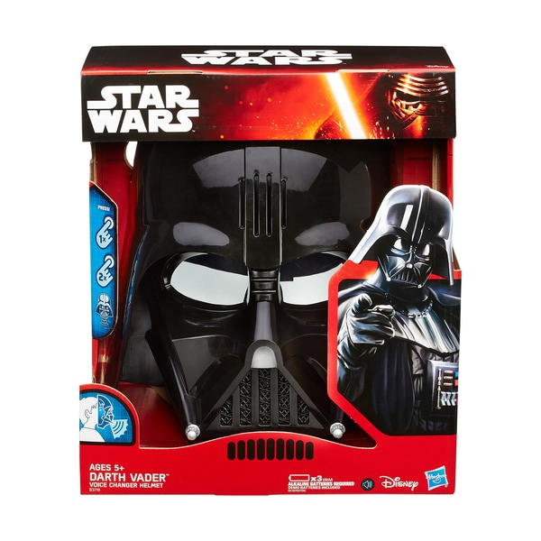 Star Wars: The Empire Strikes Back - Darth Vader Voice Changer Helmet