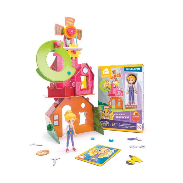 Goldie's Crankin' Clubhouse Construction Toy