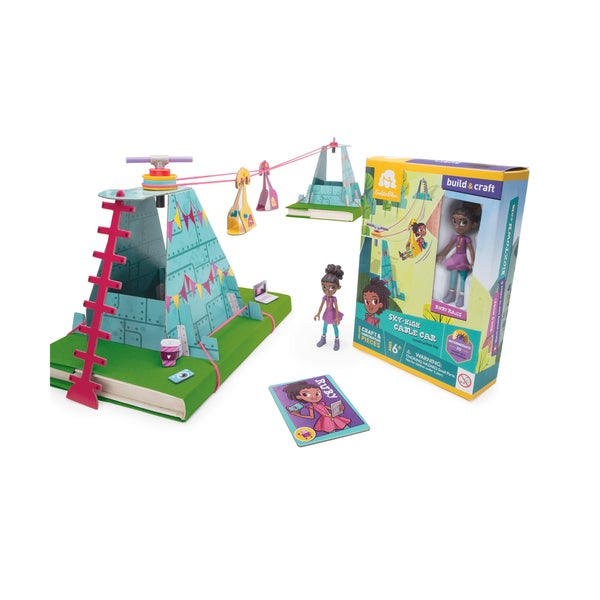 Ruby's Sky-High Cable Car Construction Toy