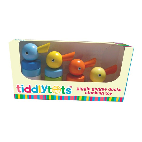 TiddlyTots Giggle Gaggle Ducks Stacking Toy