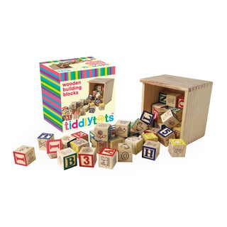 TiddlyTots Wooden Building Blocks