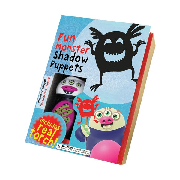 Fun Monster Shadow Puppets