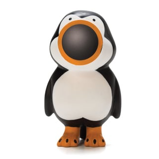 Penguin Popper Key Chain