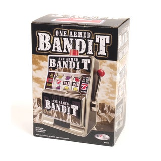 One Armed Bandit Bank - Black
