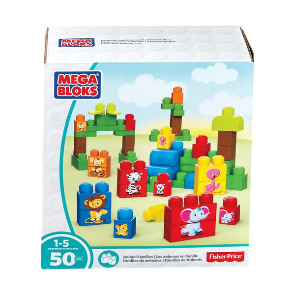 Fisher-Price Animal Families: 50 Pcs