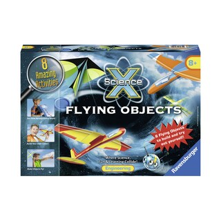 Science X Midi - Flying Objects - Red/Yellow