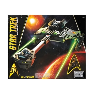 Star Trek the Original Series - Klingon D7 Battle Cruiser: 351 Pcs