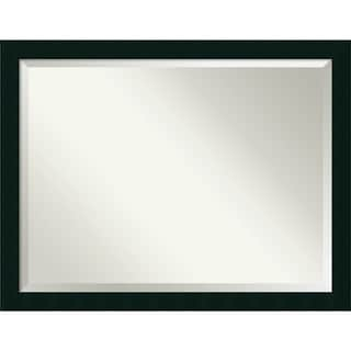Wall Mirror Oversize Large, Tribeca Black 44 x 34-inch