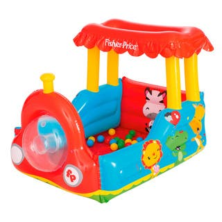 Bestway Fisher Price Train Ball Pit|https://ak1.ostkcdn.com/images/products/15614848/P22048527.jpg?impolicy=medium