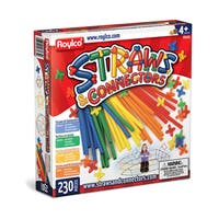 Straws & Connectors - 230 Piece Set - Multi