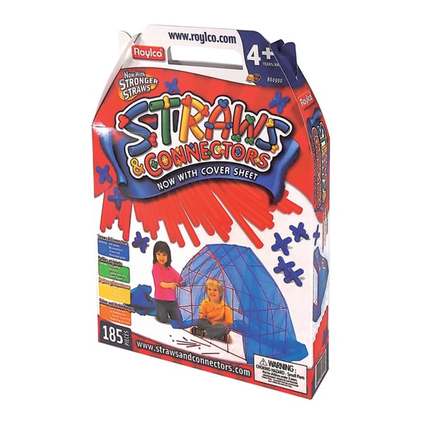 Straws & Connectors Structure Pack - 185 Piece Set