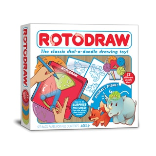 Rotodraw Activity Kit - Animals